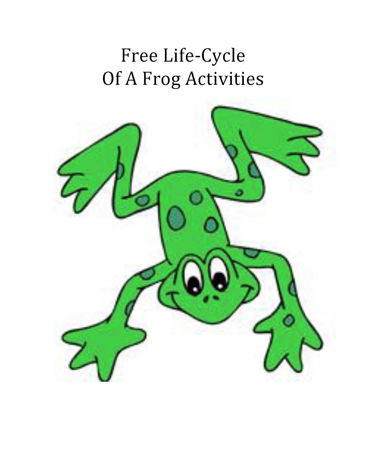 Frogs Drawing For Kids at GetDrawings.com | Free for personal use ...