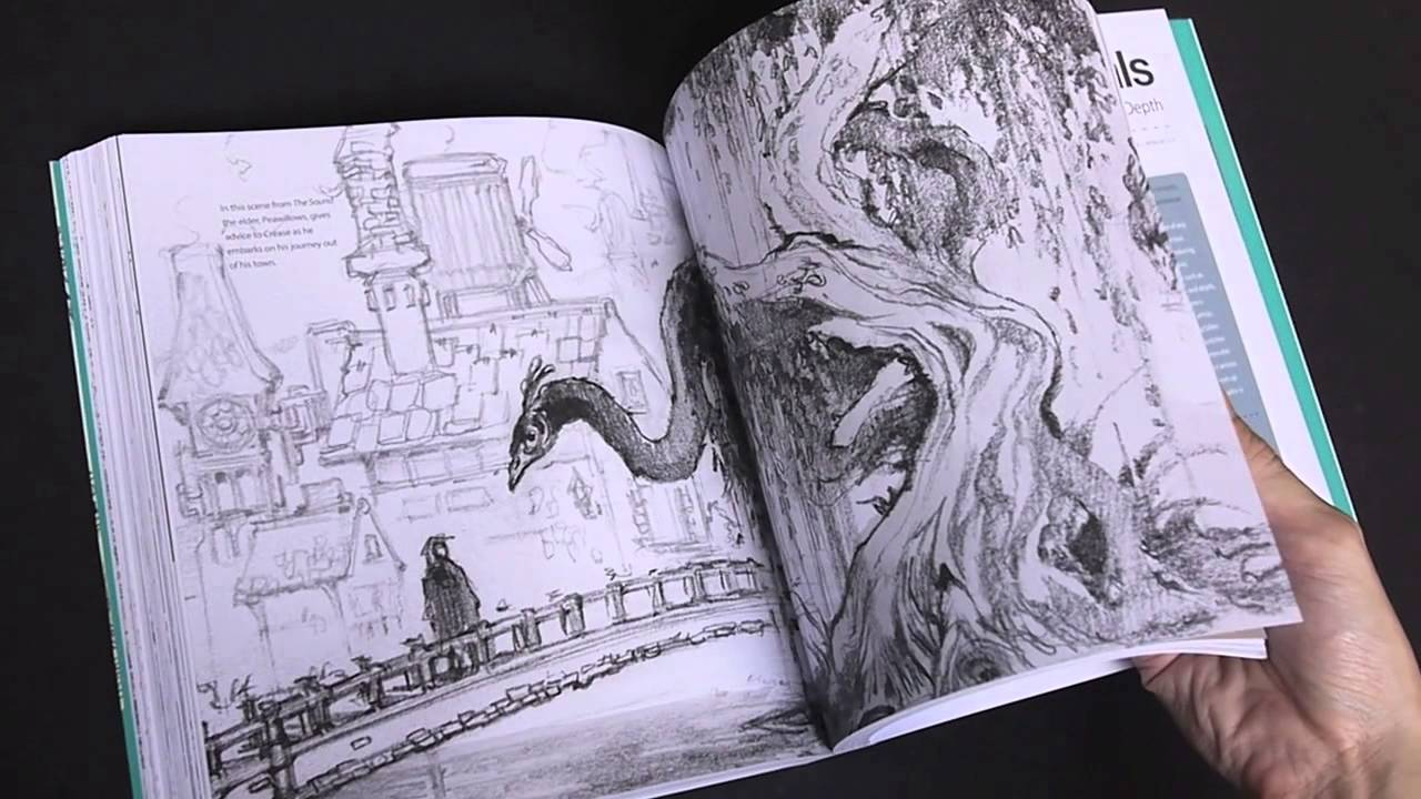 1280x720 Flip Through) Sketching From The Imagination An Insight Into