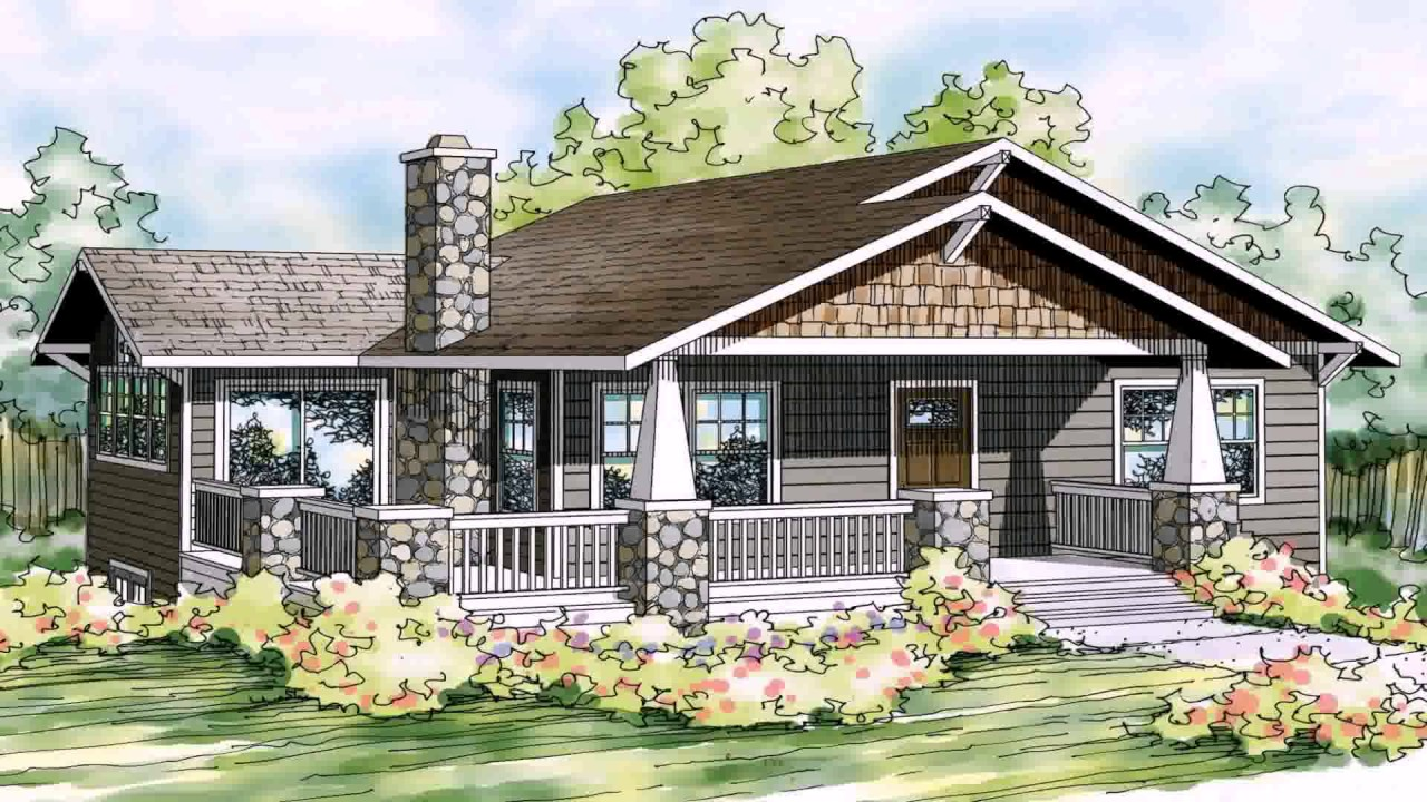 1280x720 Bungalow House Plans With Front Porch