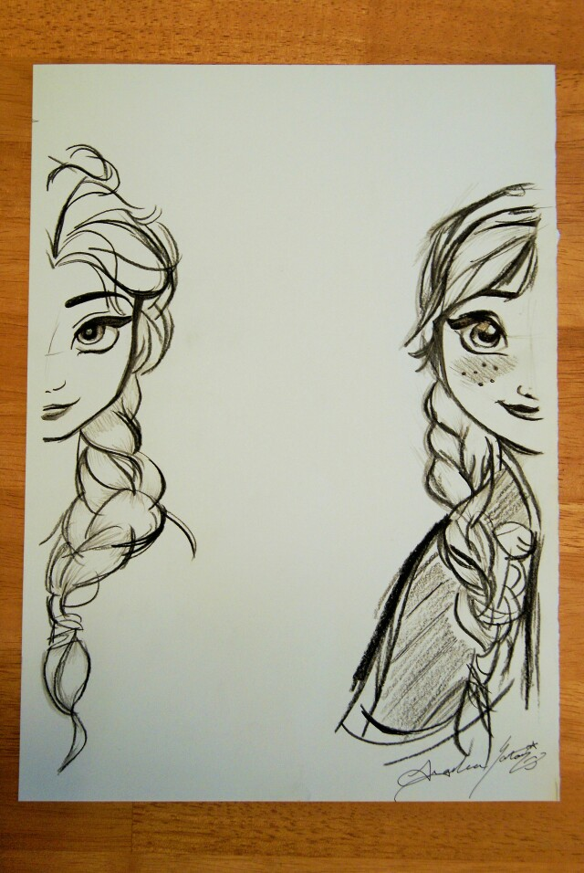 640x956 Queen Elsa And Princess Anna Disney Princess Anna