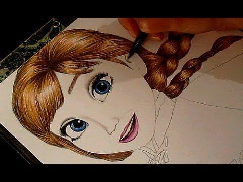 480x360 Frozen Drawing Anna