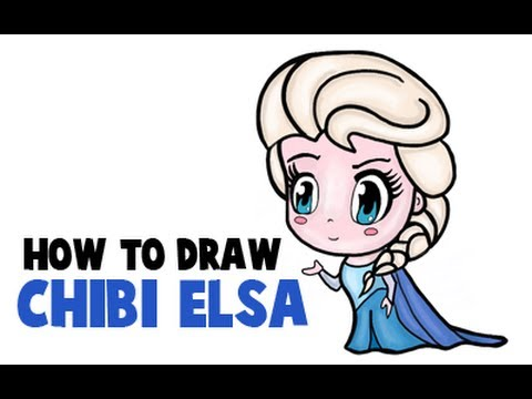 480x360 How To Draw Chibi Elsa From Frozen