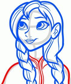 236x279 How To Draw Anna From Frozen Ideas To Paint Anna