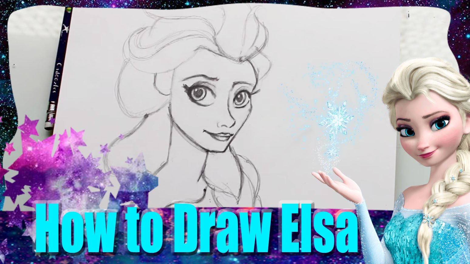 Frozen Drawing Elsa at GetDrawings.com | Free for personal use ...