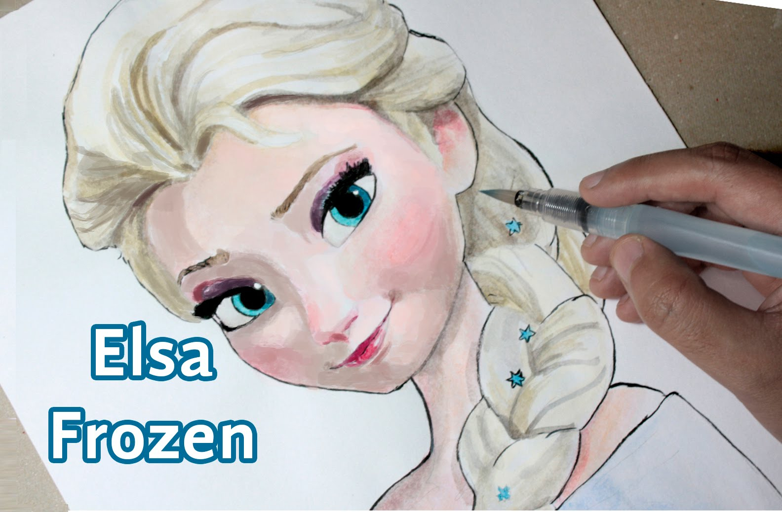 1584x1038 Speed Drawing Of Elsa Speed Drawing Elsa (Frozen)
