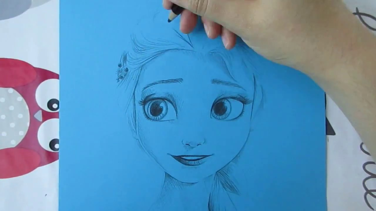Frozen Coloring Pages Olaf And Sven : Frozen drawing paper at getdrawings.com free for personal use