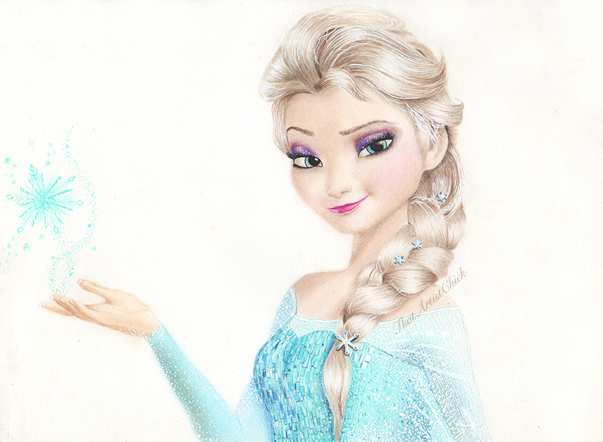 Frozen elsa drawing at getdrawings free for personal use 856x628 elsa frozen drawing by kirstenlouiseart on deviantart voltagebd Choice Image