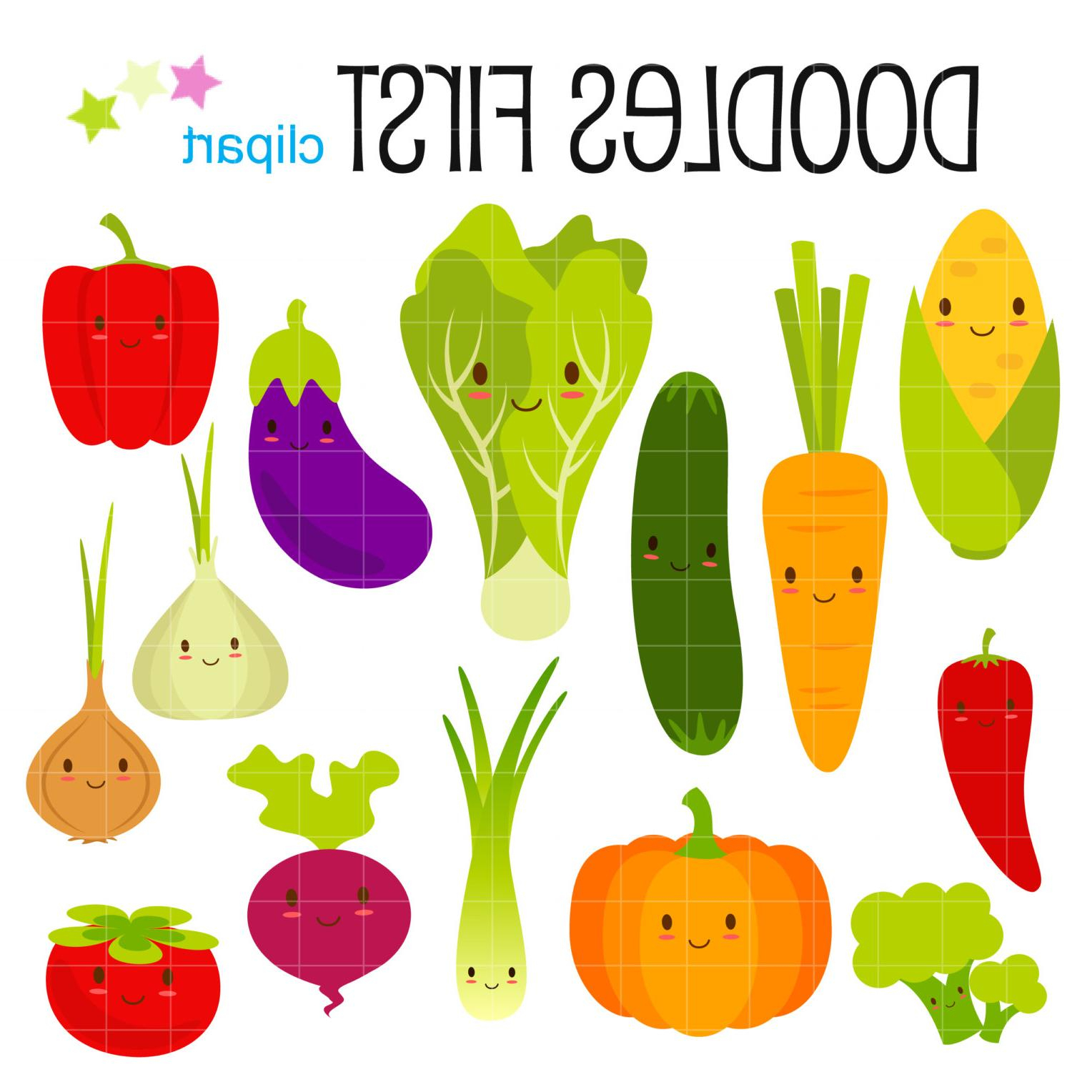 1500x1500 Drawing Of Fruits And Vegetables Best 15 Fruits And Vegetables