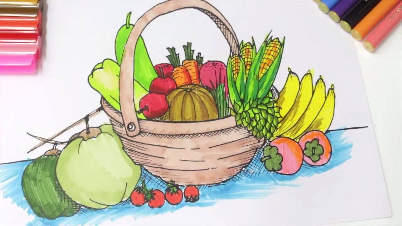 Vegetables Basket At Gets For Personal Use