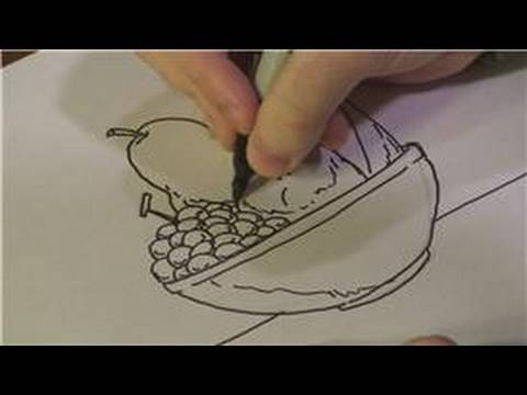 480x360 Drawing Lessons How To Draw A Fruit Bowl