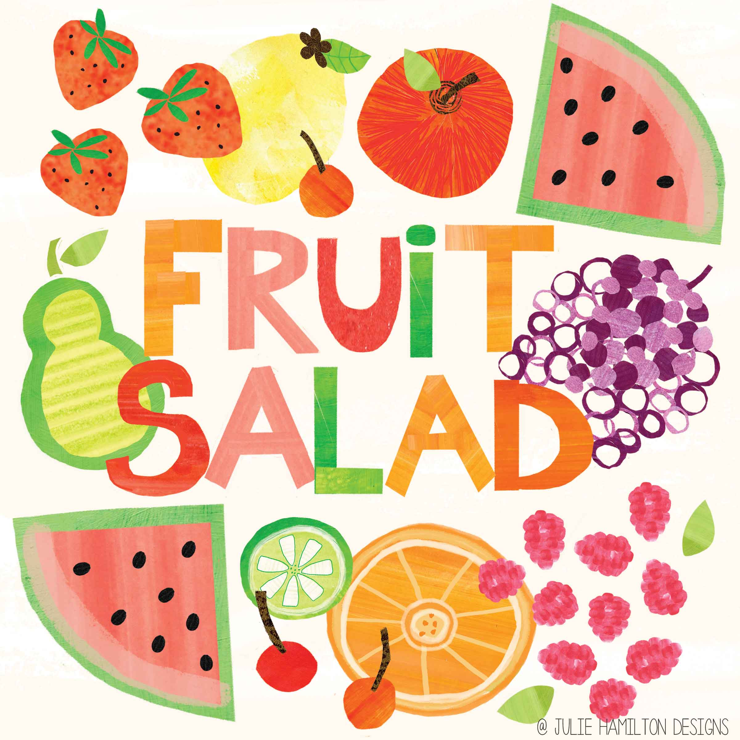 2400x2400 Fruit Salad Julie Hamilton Creative {Artistically Afflicted Blog}