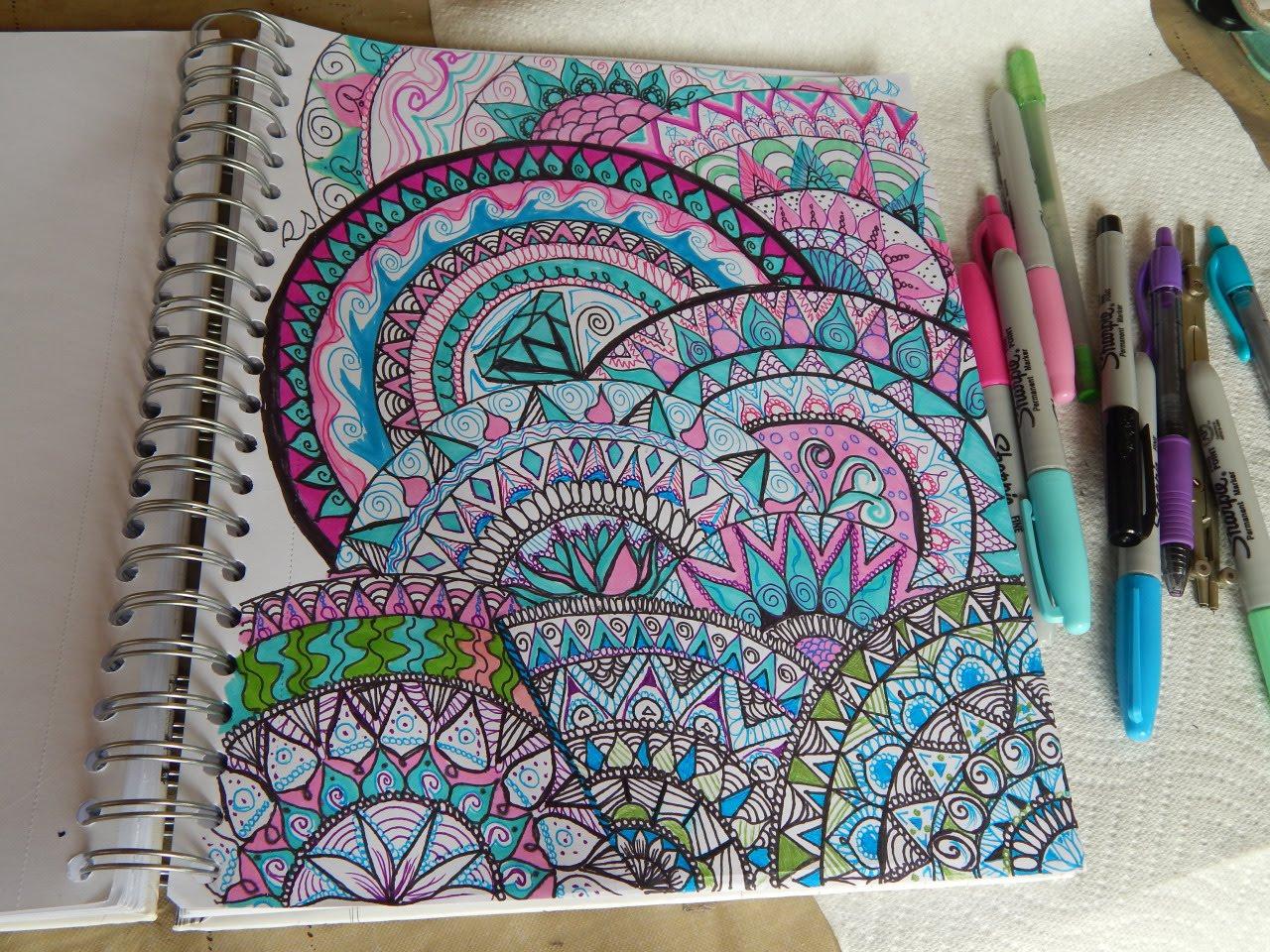 1280x960 Colorful Full Page Mandala