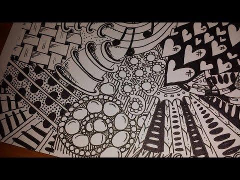 480x360 Full Page Doodletangle Art (Speedy Vid Drawing)