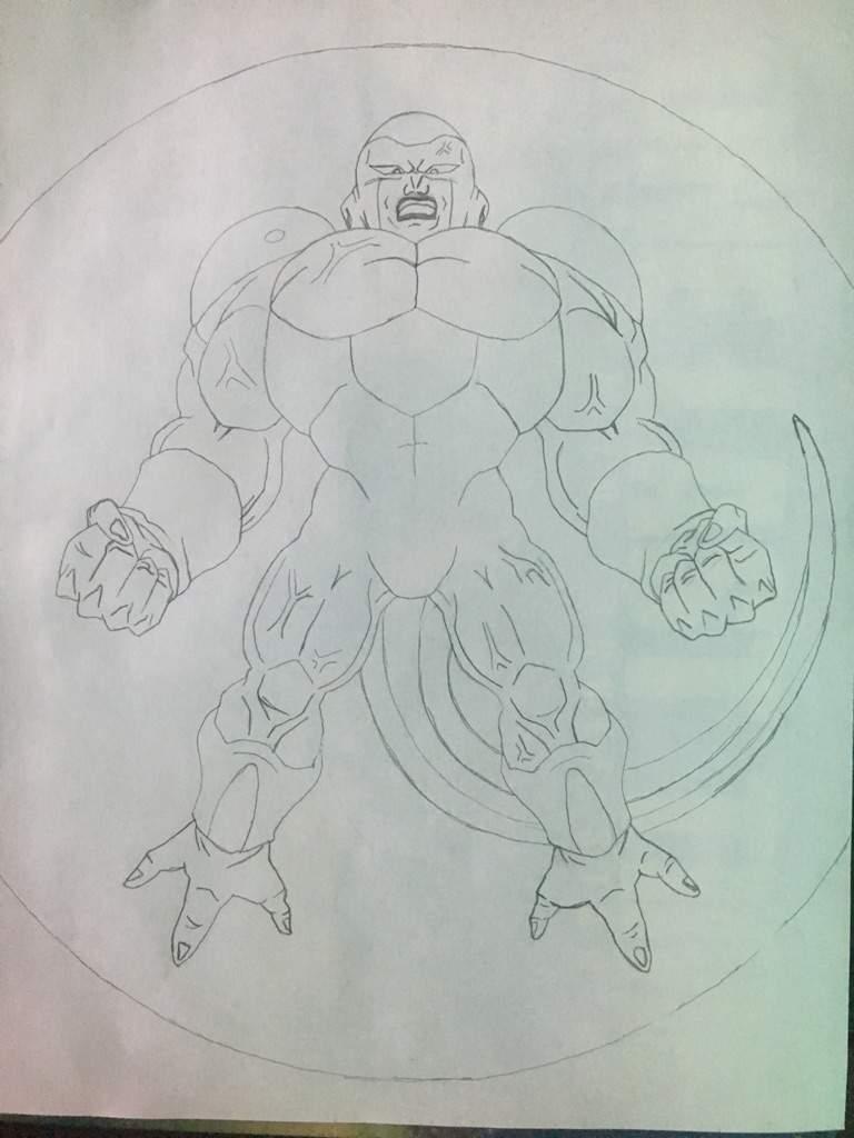 768x1024 Full Power Frieza Drawing Dragonballz Amino