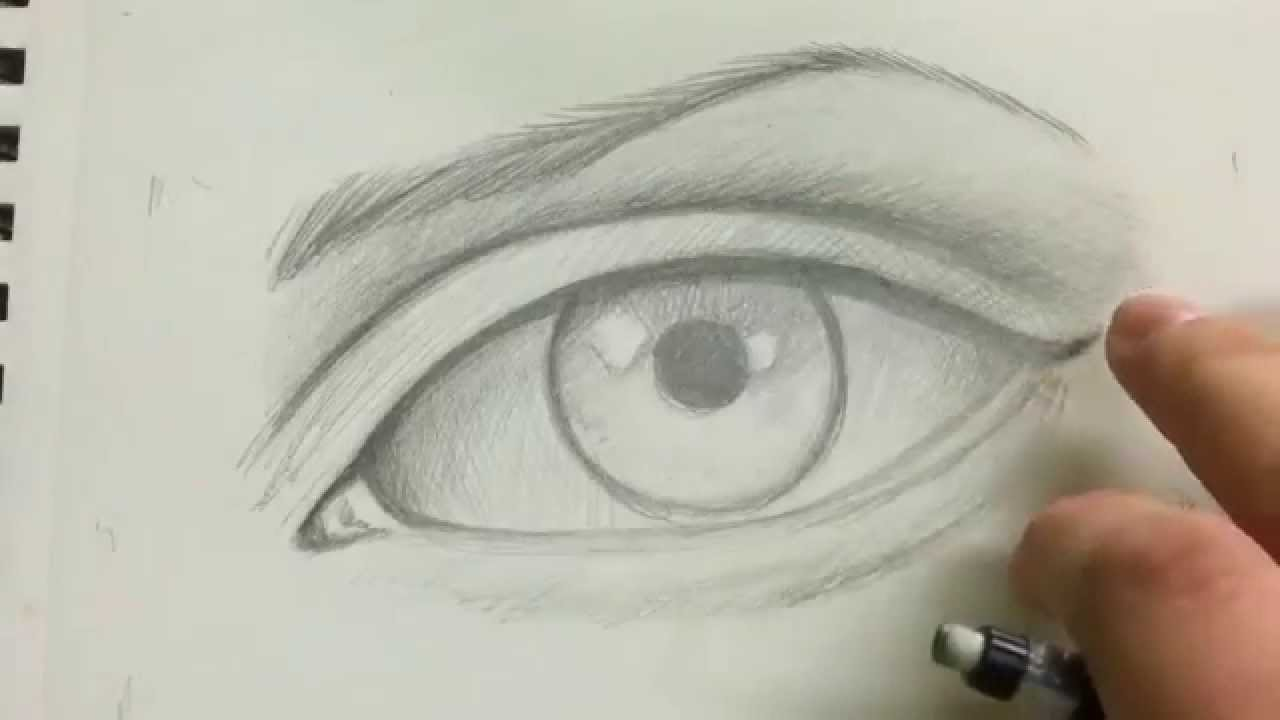 1280x720 How To Draw The Realistic Eye