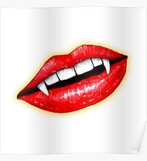 210x230 Full Lips Drawing Posters Redbubble