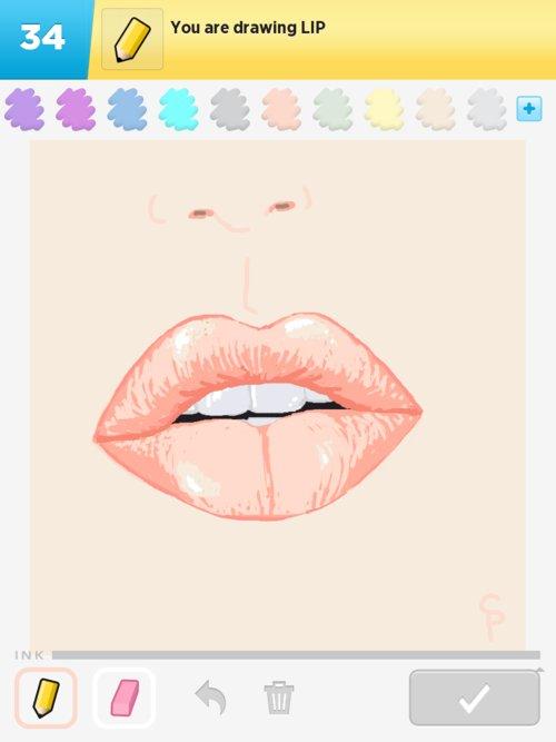 500x667 Lip Drawings