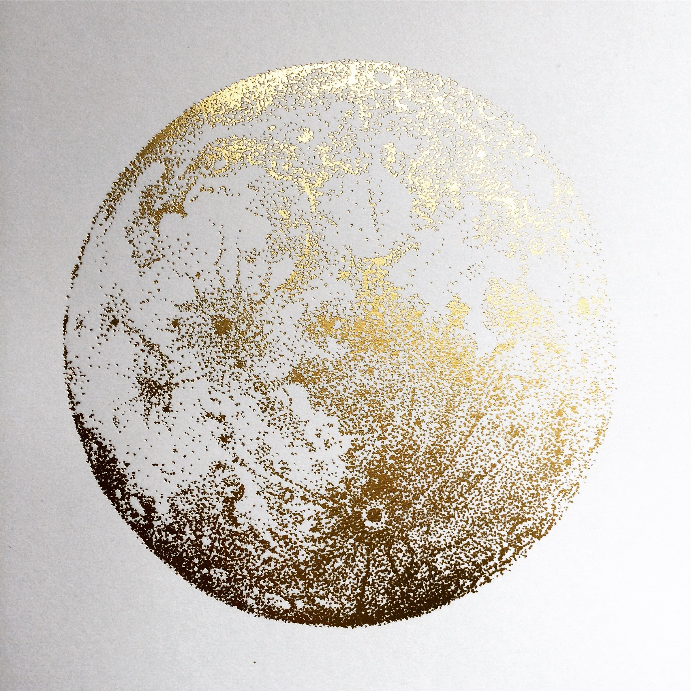2396x2396 Gold Full Moon Sabrina Drawings