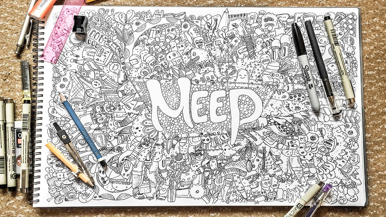 1280x720 Amazing Full Page Doodle