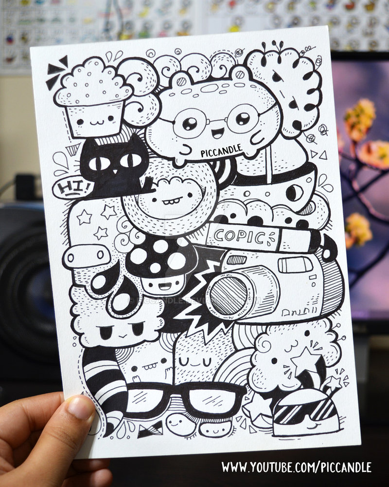 800x1000 Full Page Marker Doodle By Piccandle