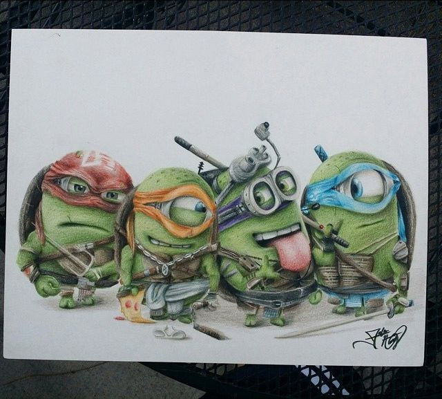 640x577 Artist Fabian Has Created A Fun Piece Of Drawing Depicting
