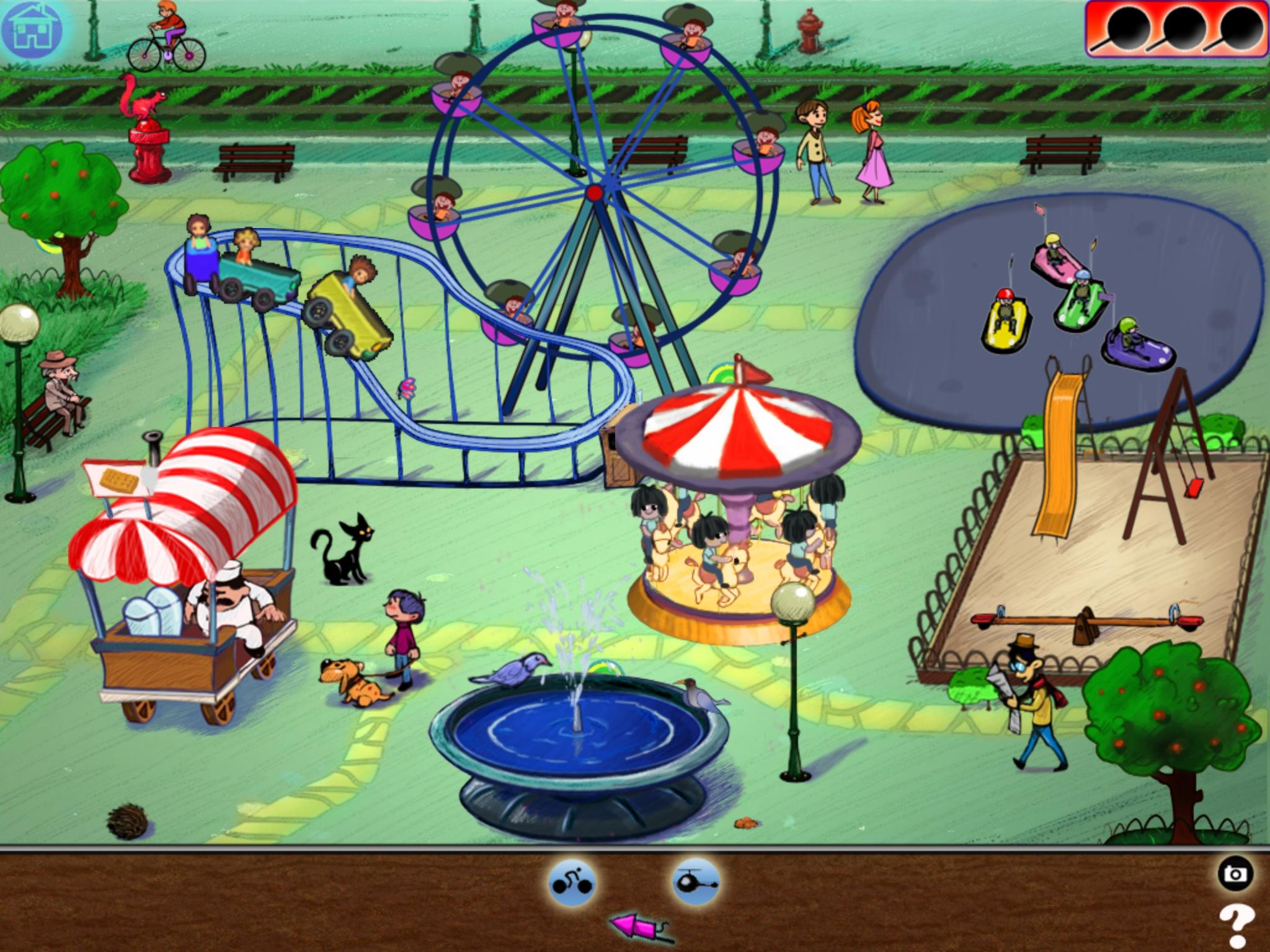 2048x1536 Fun Fair Drawing Doodle Funfair Previous Next Mukkk
