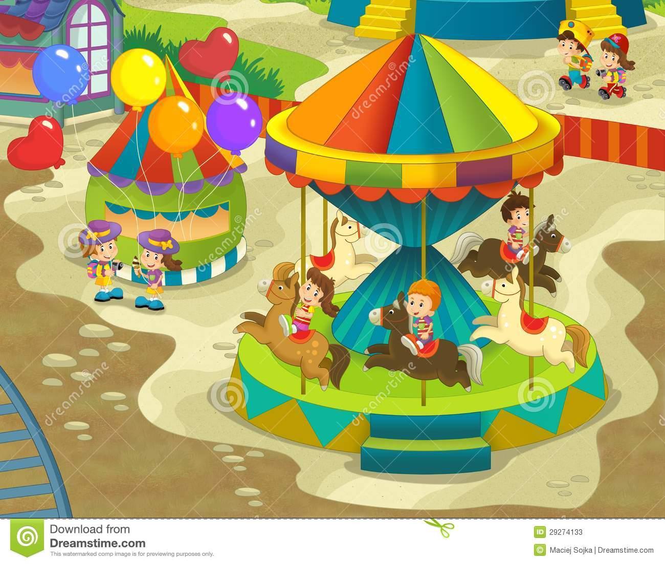 1300x1102 Fun Fair Drawing The Funfair Funfair Fun Fair