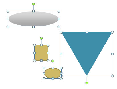 410x313 drawing a simple funnel diagram in powerpoint 2010
