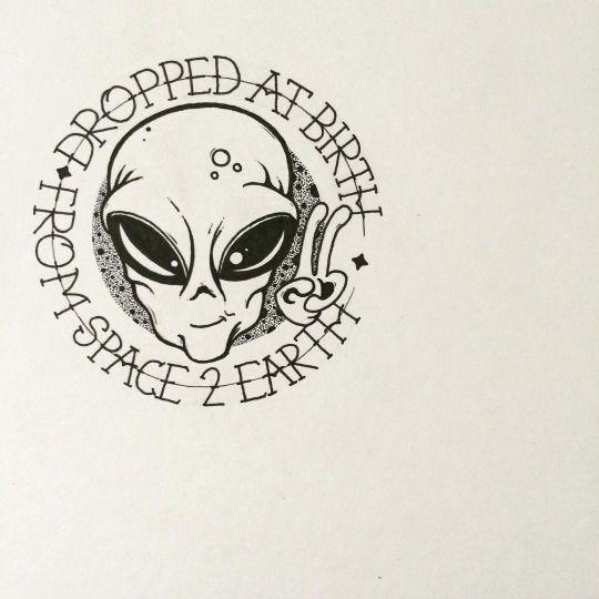 540x540 Aliens Exist Tattoo Ideas Aliens, Tattoo And Tatting