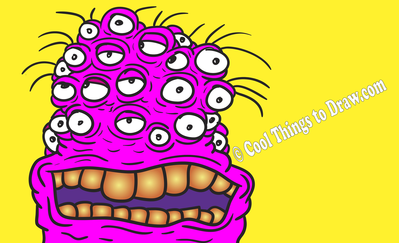 3000x1829 Fun Cool Easy Things To Draw Draw Aliens!!!