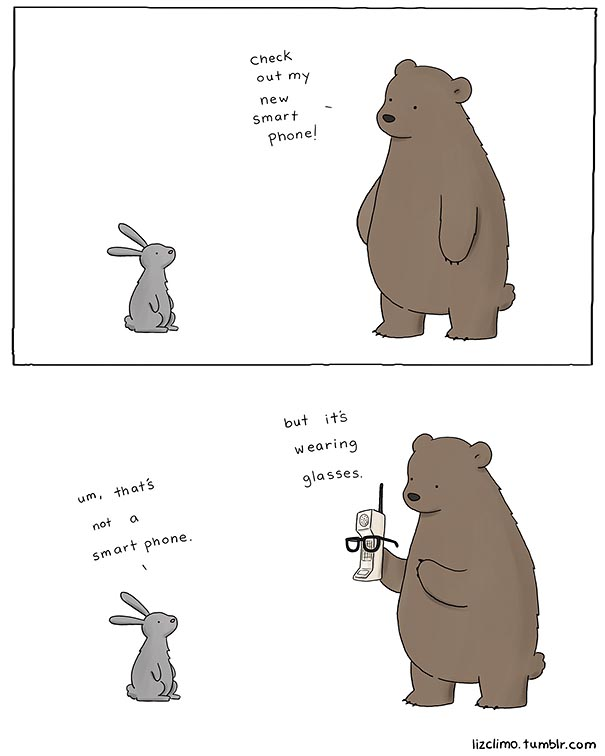 605x756 Simpsons Animator Liz Climo Creates Incredibly Cute Animal Comics