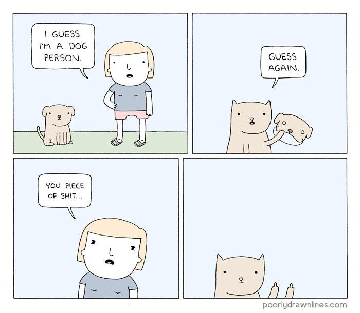 700x610 Funny Animal Comics Show Their Human Like Problems Bored Panda
