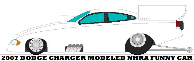 630x200 2007 Dodge Charger Modeled Nhra Funny Car By Mcspyder1