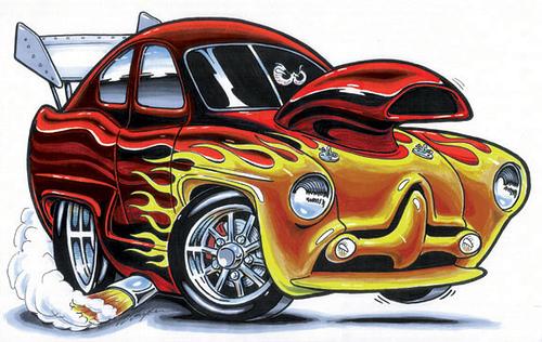 500x316 Gallery Funny Cartoon Cars,