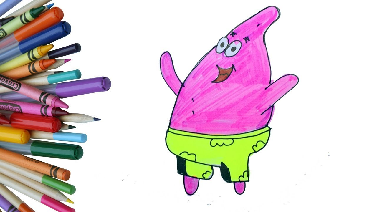 1280x720 How To Draw Funny Cartoon Character Cartoon Character Drawing