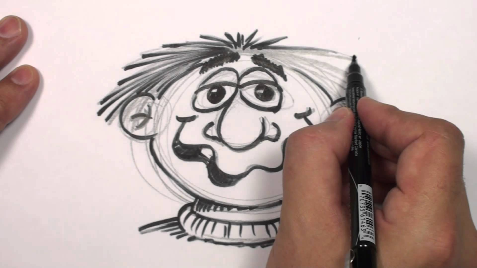 1920x1080 How To Draw A Cartoon Face