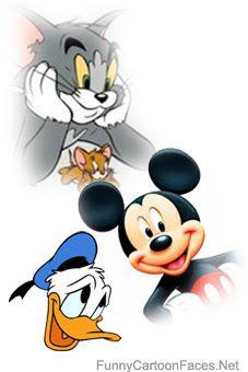 227x340 Animated Cartoon Cartoon Faces