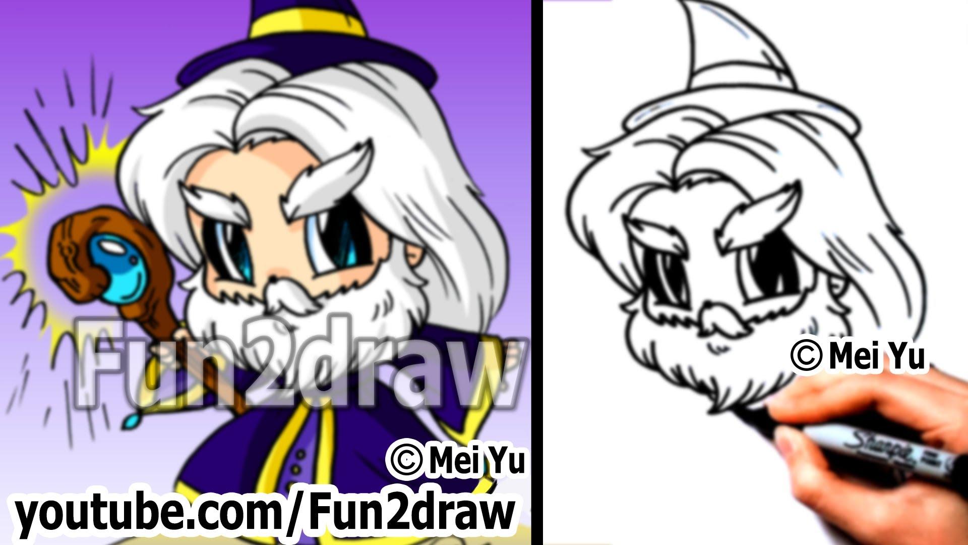 1920x1080 Fantasy Wizard! How To Draw A Wizard