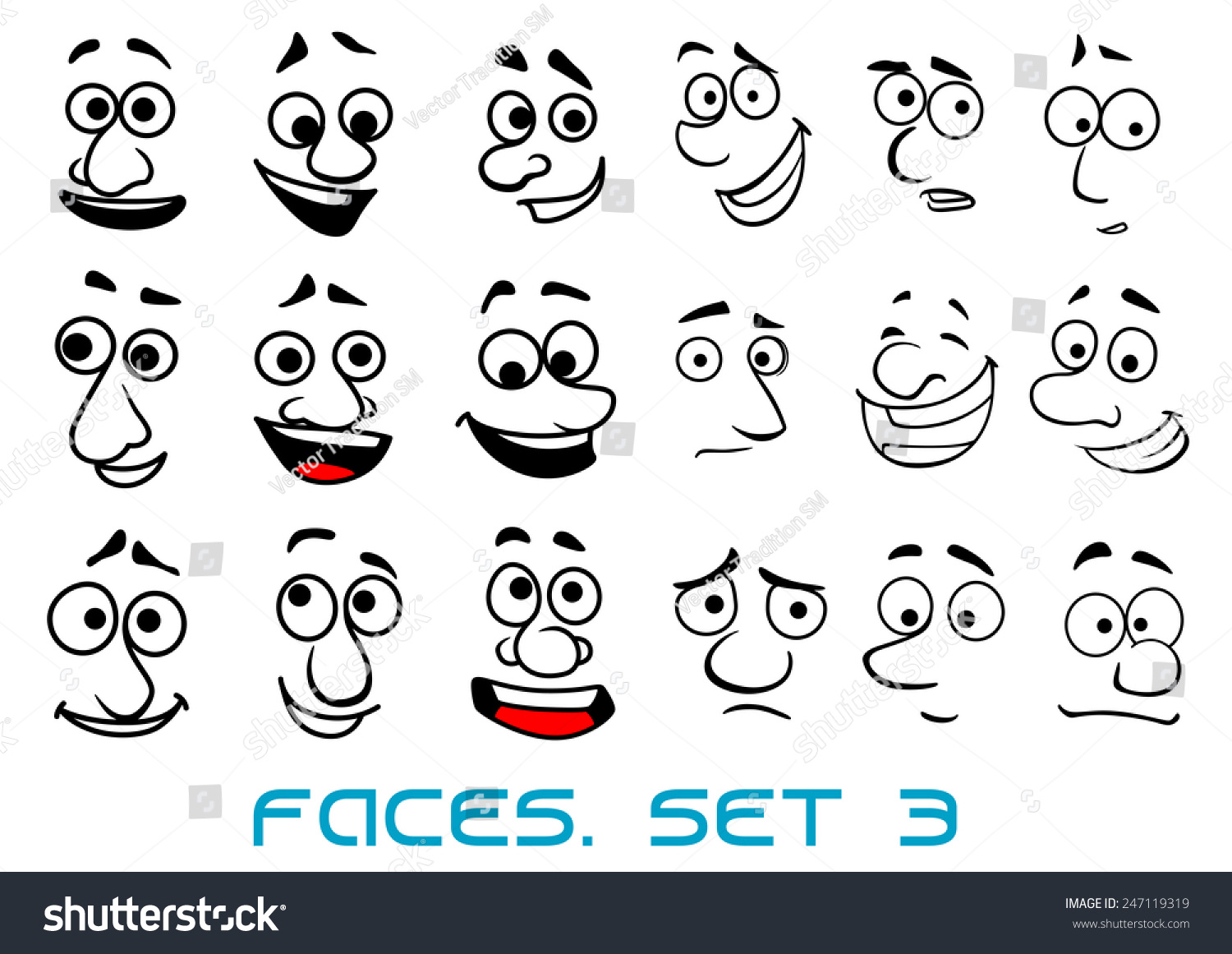 1500x1161 Funny Faces Cartoons For Sketches
