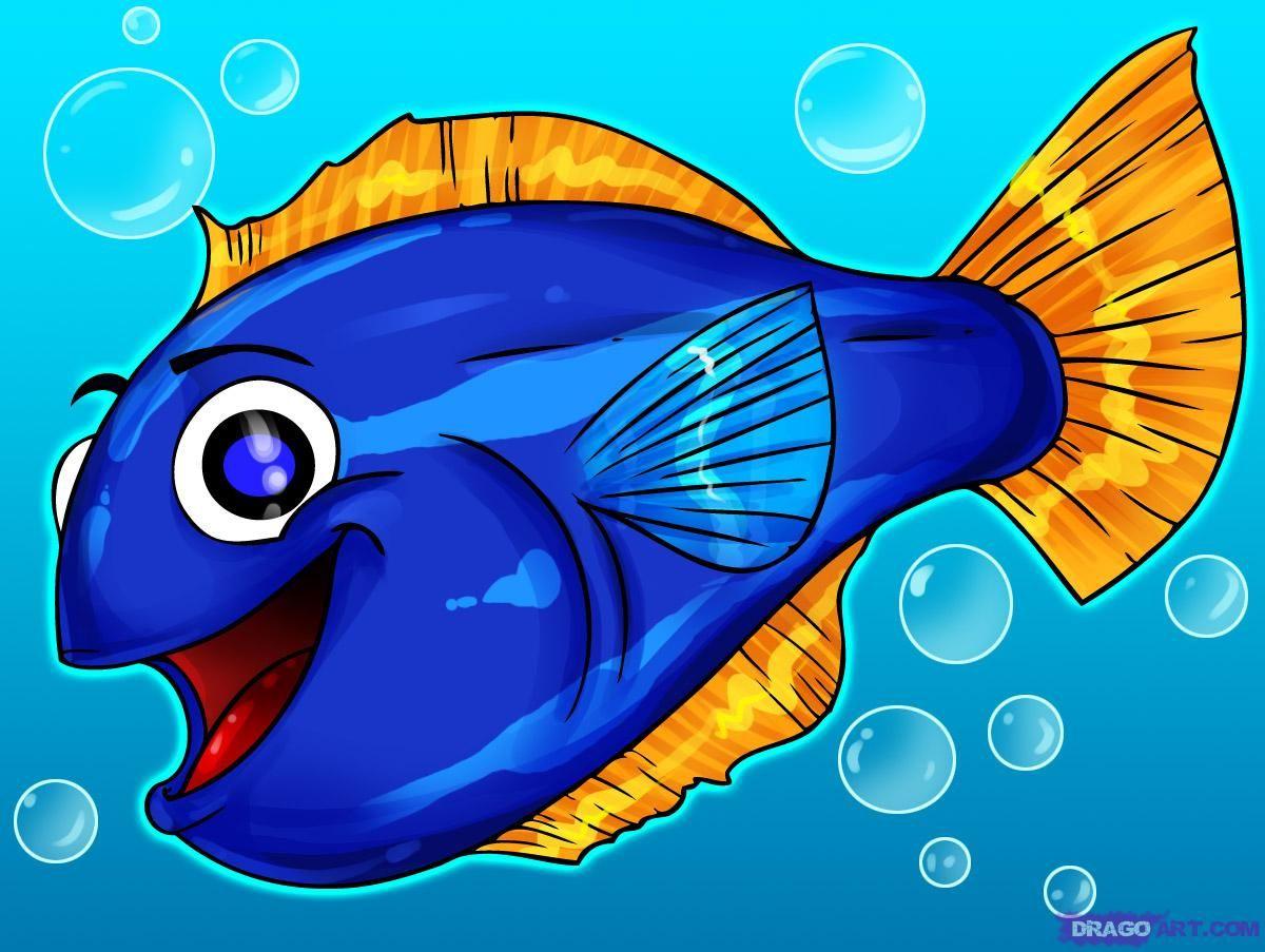 1200x903 Funny Fish Drawing Draw Cartoons , Draw Cartoon Animals , Draw
