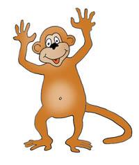 200x236 Funny Monkey Drawings