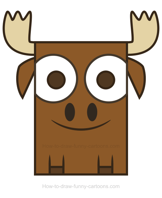 Funny moose drawing at getdrawings free for personal use funny 520x635 moose clipart thecheapjerseys Image collections
