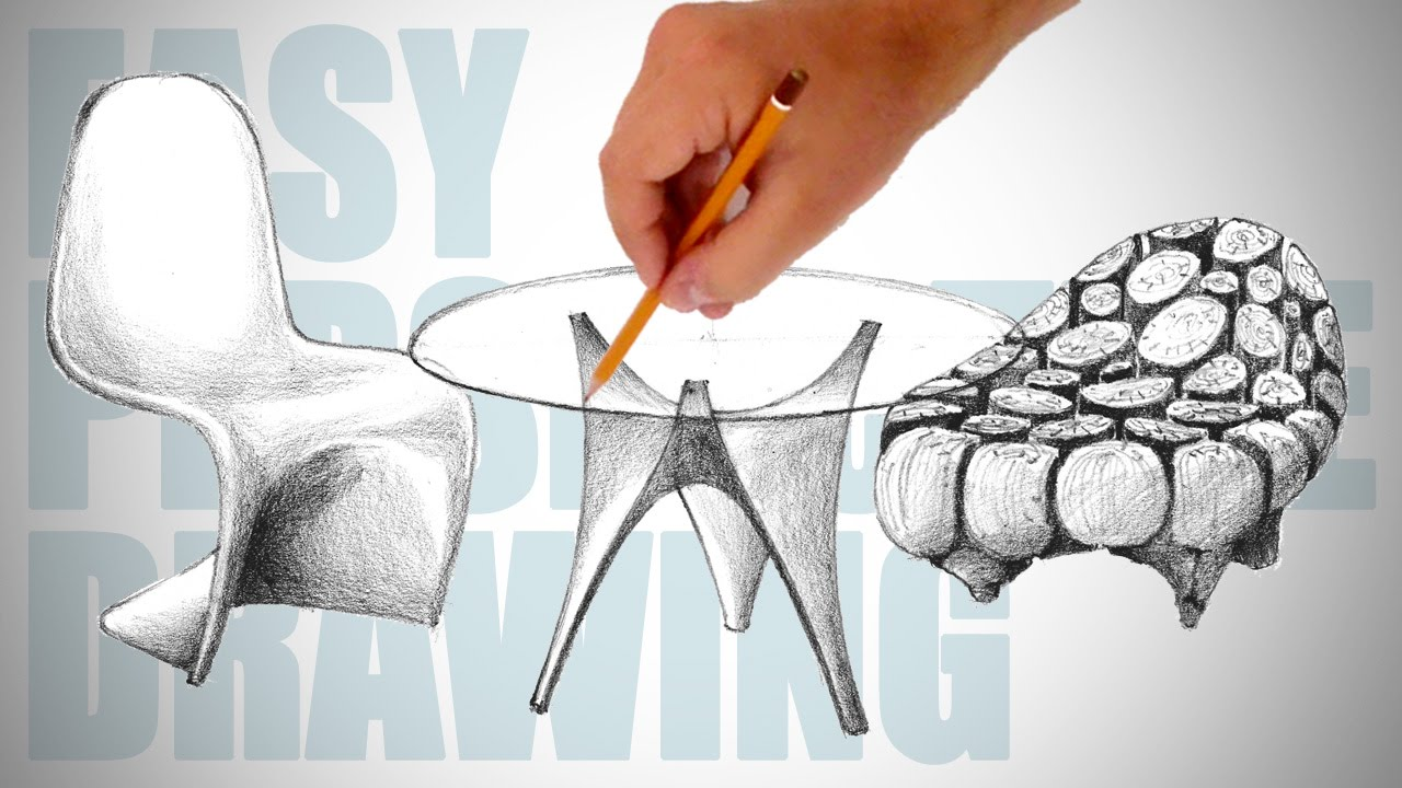 1280x720 How To Draw Modern Furniture