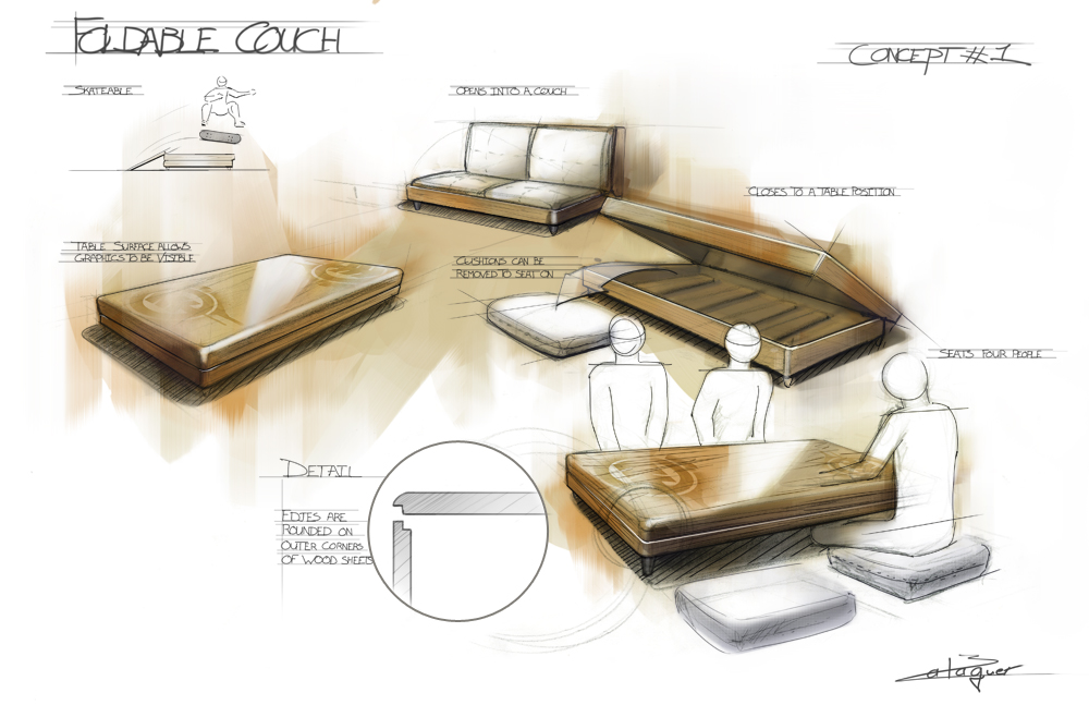Furniture Design Drawing at GetDrawings.com   Free for personal use ...
