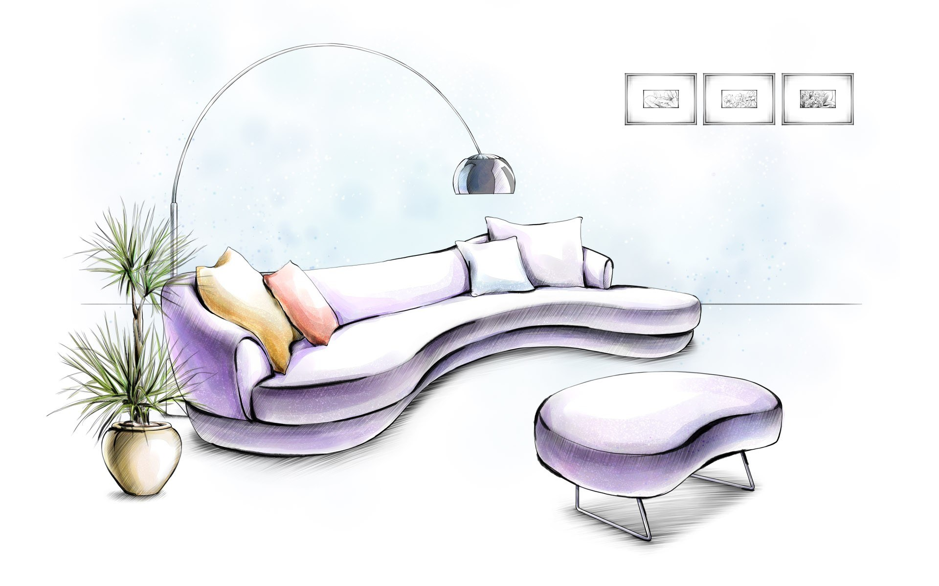 1920x1200 Rise Sofa Fogia Note Design Studio 9 Sketches. Excellent Modern