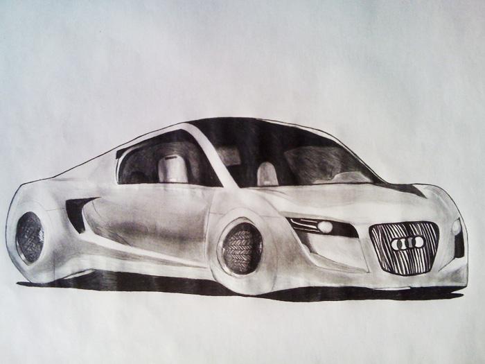 700x525 Future Car Drawing By Yohanperezart