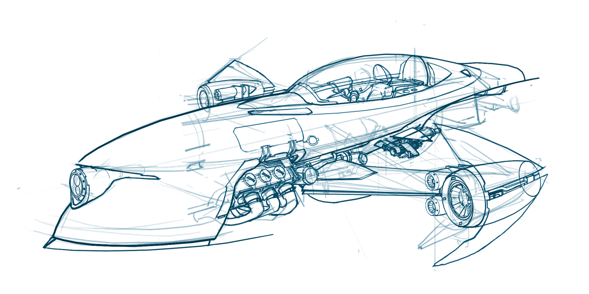 1200x600 Rcf Flycar03a.jpg The Development Of Ratchet Amp Clank