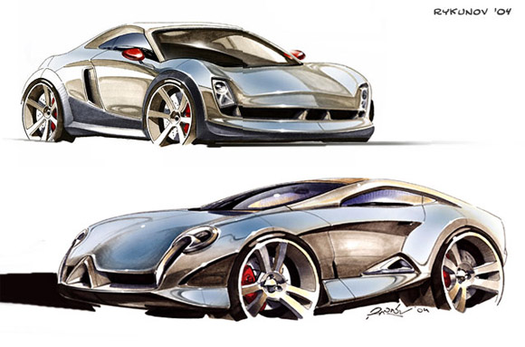 580x383 Cardrawing Future How To Draw A Real Car