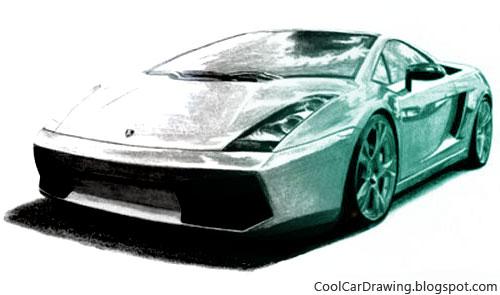 500x295 Cool Car Drawings Draw A Futuristic Car