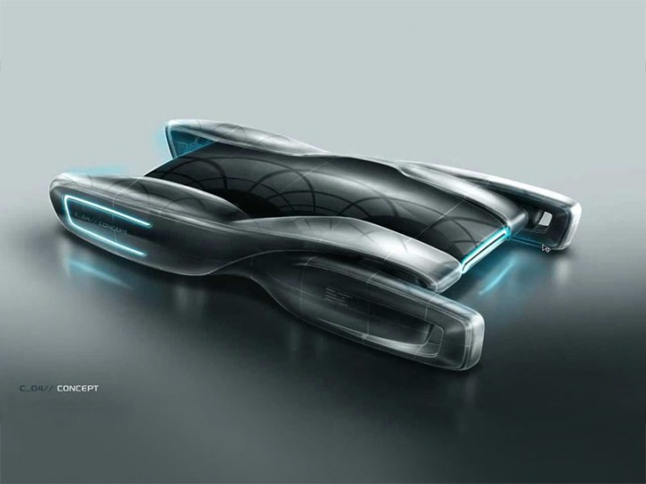 720x540 Create A Futuristic Concept Car In Photoshop
